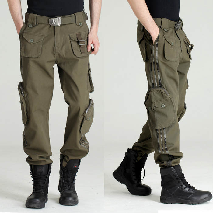 Cargo Pants Black Military Tactical Cargo Pants Men Army Tactical Sweatpants High Quality Black Working Men Pant Clothing Pantalon Homme CS Rated /5 /5(43).