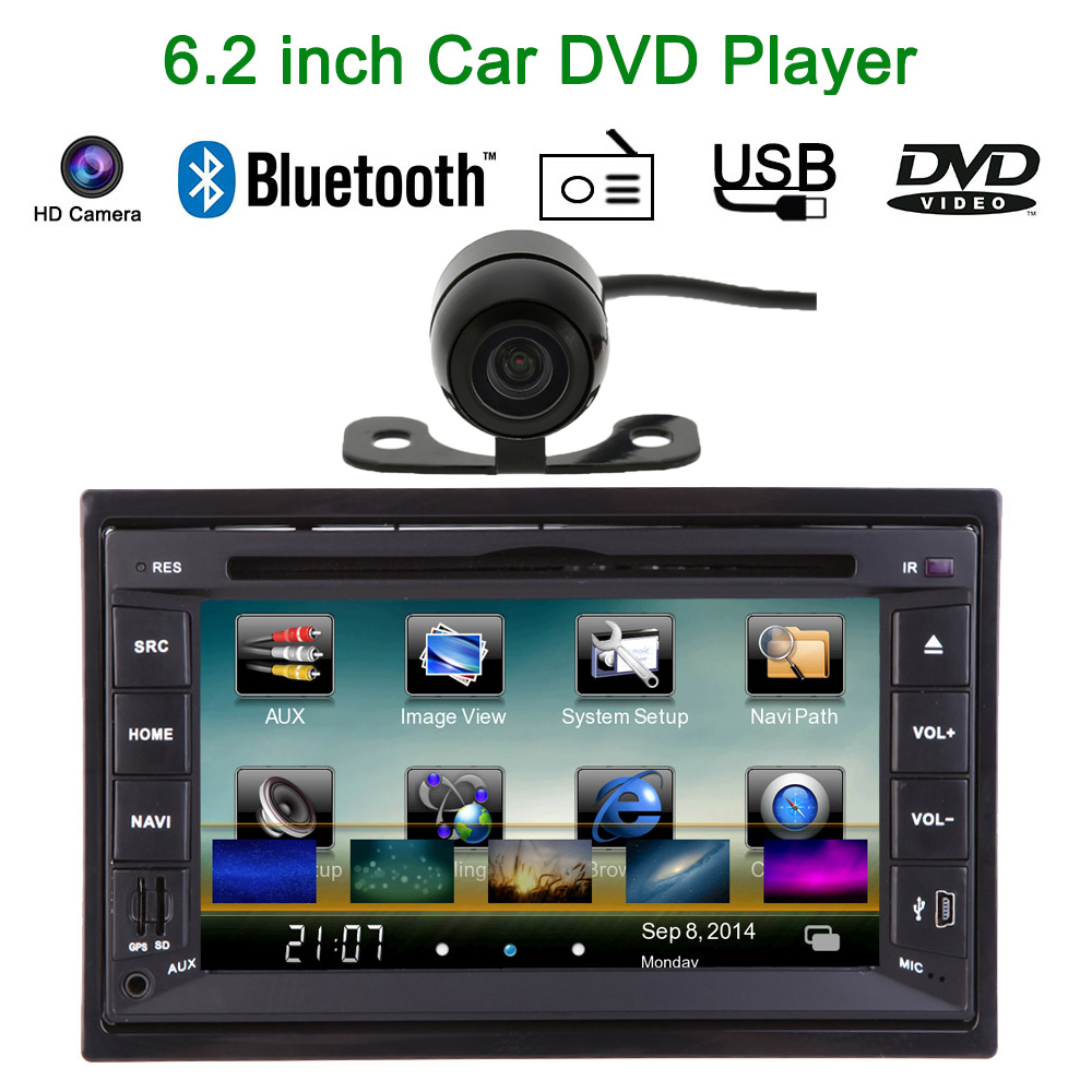 6 2 2 din car mirror connect android cellphone car dvd. Black Bedroom Furniture Sets. Home Design Ideas