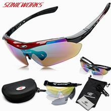UV400 Bicycle Glasses Men Women Outdoor Sports Sunglasses wi