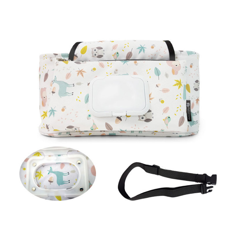 Multifunctional Stroller Hanging Storage Bag With Shoulder Strap Baby Diaper Bag For Mummy Bag Baby Nappy Organizer Pouch in Storage Bags from Home Garden