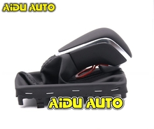 NEW A6 PA STYLE FOR Audi A4 A6 C7 leather shift knob автомобильная электрика audi a6 a4
