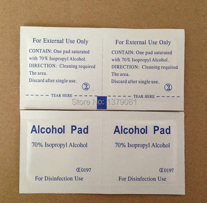 Alcohol Film Disinfection Tablets Alcohol Sterile Cotton Pad Disposable For Medical