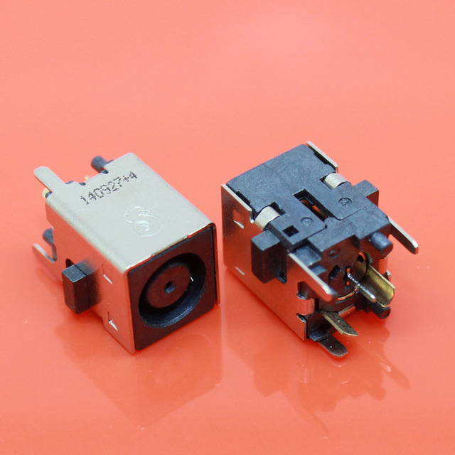 US $5 67 10% OFF|cltgxdd New 2pcs/lot New DC Power Jack Socket Connector  for Dell Inspiron ONE 2205 2305 2320 vostro 3010 360 7 4x5 0mm-in  Connectors