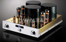 YAQIN MC-10T Integrated vacuum tube amplifier SRPP circuit EL34*4 UL Class AB1 Power amplifier 2*40W 110V/220V