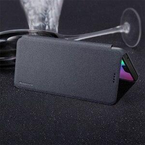 Image 5 - Huawei Onur Honor 10 için Kapak Kılıfı NILLKIN Sparkle Süper İnce Flip Case Kapak PU Deri Kılıf için Huawei Honor10 telefon Çanta Durumda