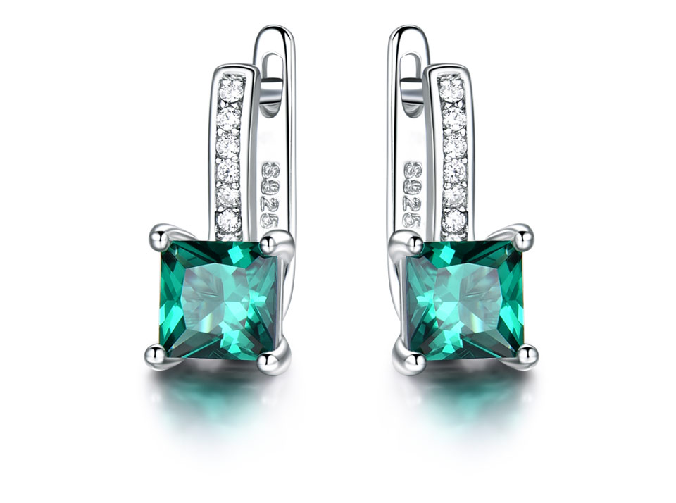 UMCHO-Emerald-silver-sterling-jewelry set-for-women-S005E-1 (2)
