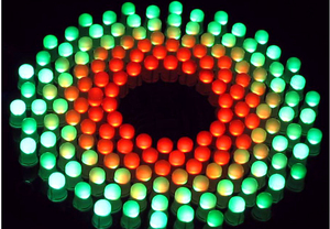 Image 4 - Conjunto de luces LED con espectro de música RGB, colores, Fantastic9X18 Aurora, Kit de bricolaje, STC, MCU, regalo de Control