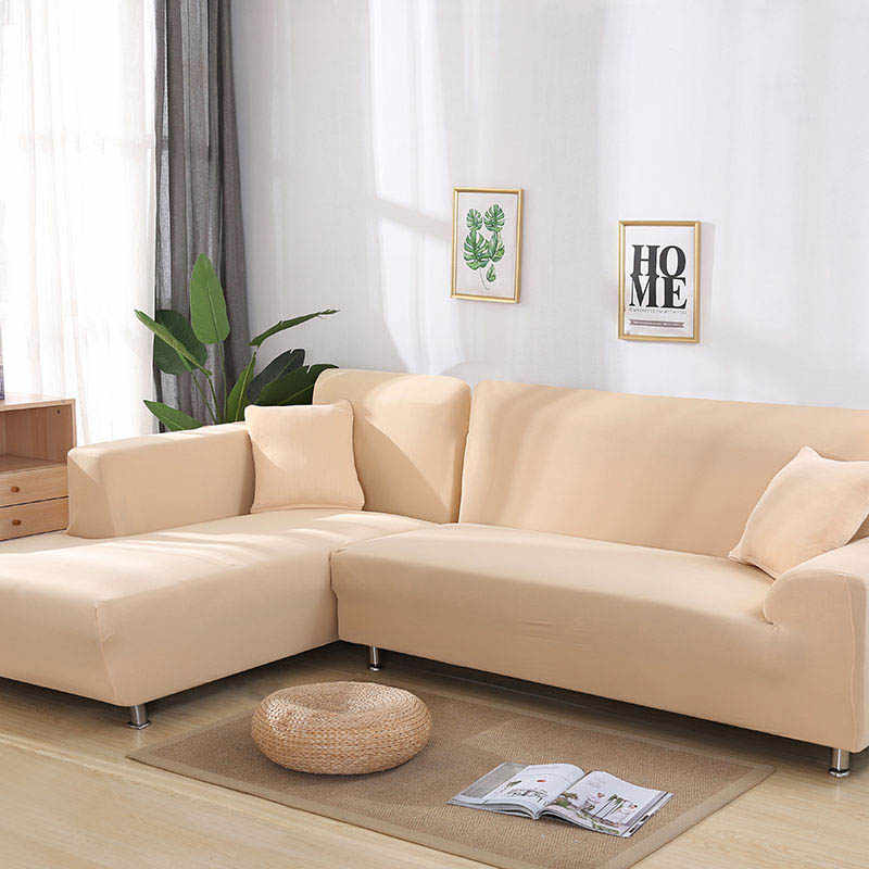 2 Pieces Sofa Cover For L Shaped