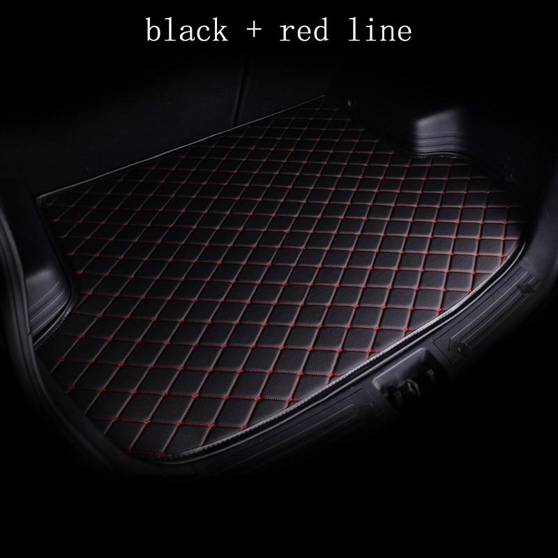 kalaisike custom car mat trunk for for Hyundai All Models solaris tucson 2016 sonata ix25 i30
