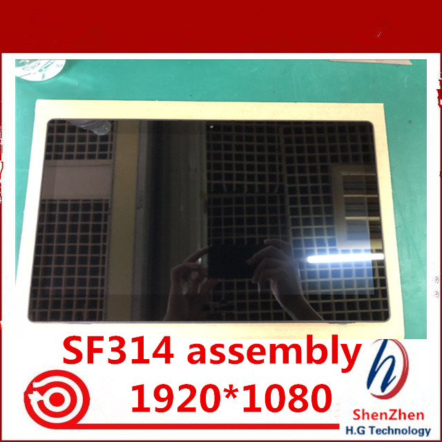 14 FHD 1920X1080 For font b Acer b font SF314 LCD screen touch screen with frame