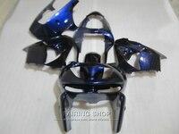 Высокое качество пластиковых Обтекатели для Кавасаки ZX9R 1998 1999 глубокий комплект синих обтекателей ниндзя zx9R 98 99 XG32