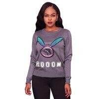 Hoodie Sweatshirt Appliques Letter Plus Size Long Sleeve Casual Hoodies Women S Autumn Winter Tops Black