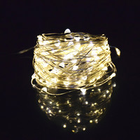 Holiday Lighting Solar String Lights 10M 100LED Copper Wire String Fairy Light Waterproof Solar Power Lamp For Garden Decoration