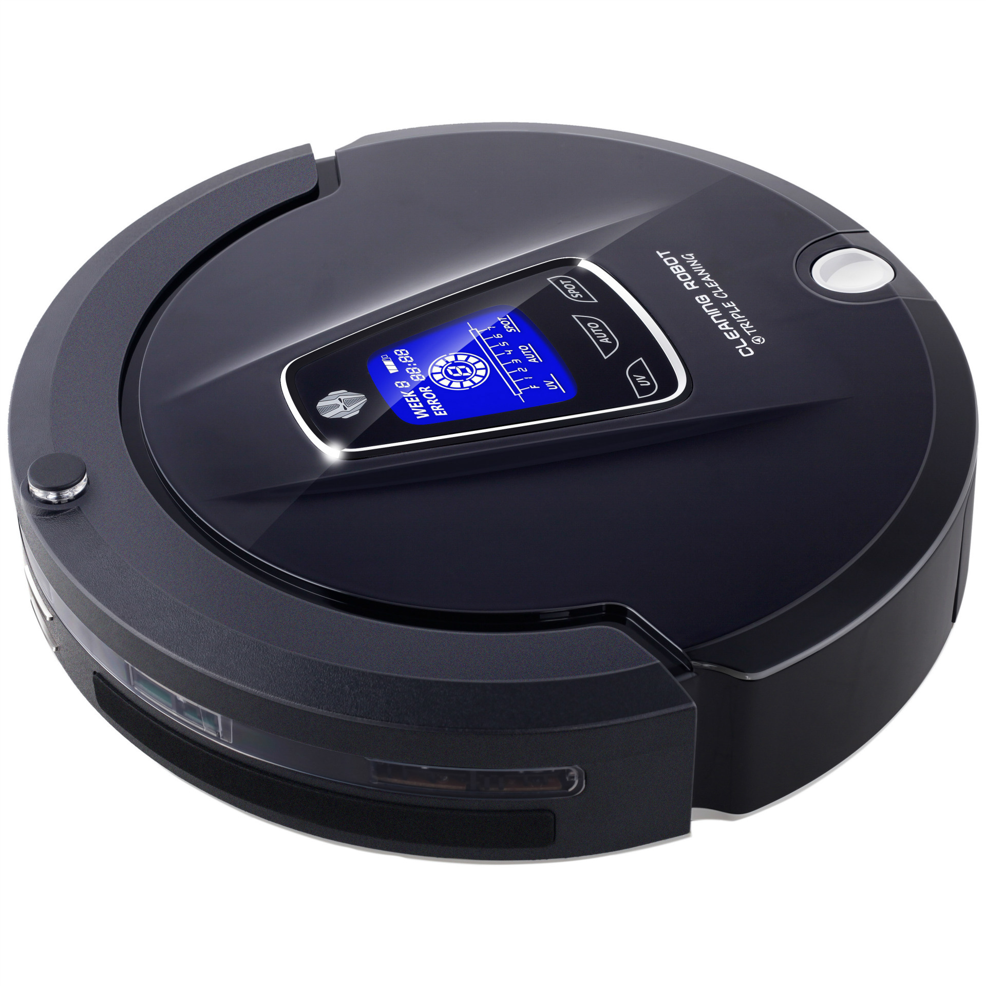 Electric Floor Mops Cleaning Appliances Orderly Mini Mute Intelligent Vacuum Cleaner Robot Automatic Induction Sweeper Robot Vacuum Cleaner For Home Cleaning Battery Type