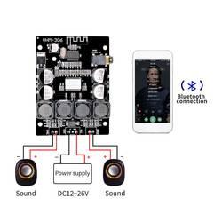 Bluetooth 4,2 TPA3118 2x30 Вт 8-26 в DC Bluetooth стереонаушники цифровой усилитель мощности доска для усилителей