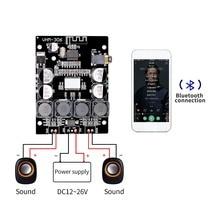 Bluetooth 5.0 TPA3118 2 × 30 ワット 8 26 v dc ステレオオーディオ bluetooth デジタルパワーアンプボードアンプ