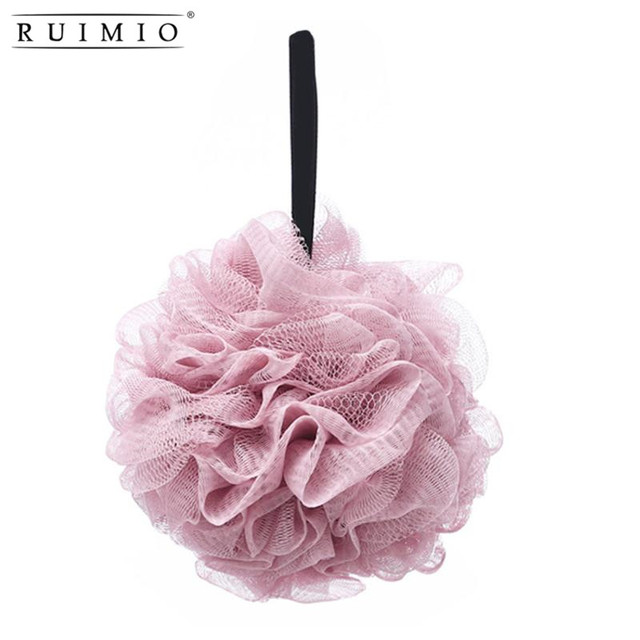 Random Color Bath Shower Sponge Pouf Loofah Bouquet Full Lather Interesting Mini Loofah Poufs
