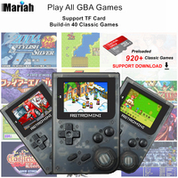 NEW RETROMINI Handheld Game Player 32 Bit Retro Mini Pocket Game Console Anti-Dropping Built-in 960 Classic Games Best Gift
