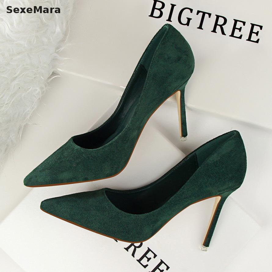 2017 High quality New Fashion Women s pumps Shoes Sexy Beautiful Pointed Toe High Heels Shoes