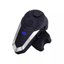 BT-S3 1000M Motorcycle Helmet Intercom Wireless Bluetooth Headset Waterproof BT Interphone Intercomunicador Moto FM