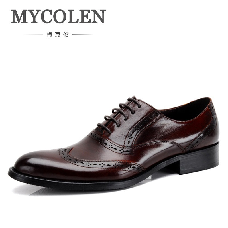 Genuine Quality Goods Male Shoe Business Affairs Correct Dress Leather England Chalaza Ventilation Single Leather Shoes Shoes mcd200 16io1 [west] quality goods