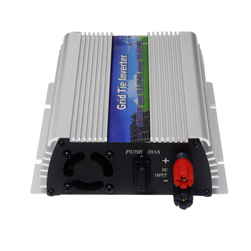 MAYLAR@ 300W Solar Pure Sine Wave Grid Tie Inverter DC 10.5-30V AC 180-260V For Vmp18V Panels Home Solar Energy System maylar 22 60v 300w solar high frequency pure sine wave grid tie inverter output 90 160v 50hz 60hz for alternative energy