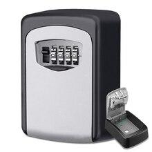 Сейф с замком для ключей, открытый настенный Комбинированный Замок с паролем, скрытый ящик для хранения ключей, сейфы для безопасности дома и офиса