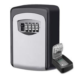 Секретный замок Сейф с ключом открытый настенное крепление комбинация блокировки паролей скрытые ключи коробка для хранения сейфы для