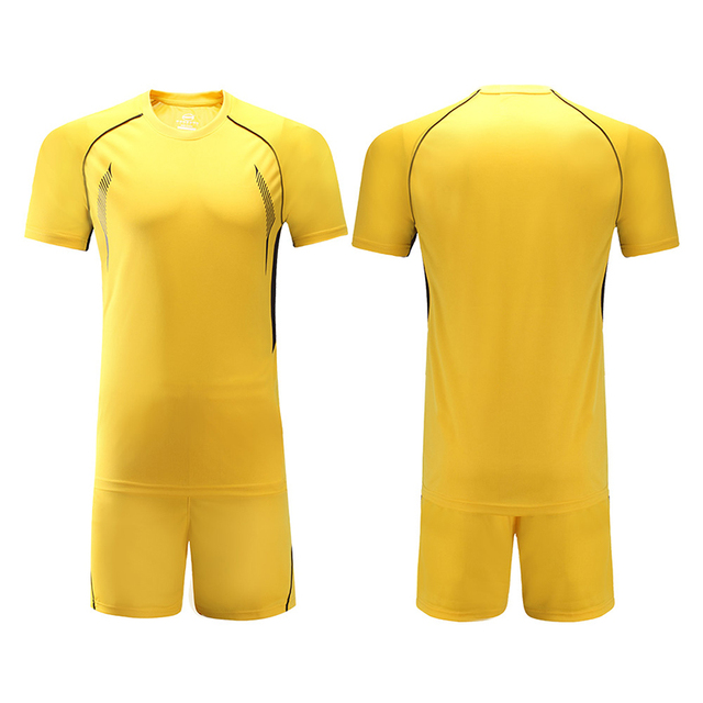Wholesale new style soccer jerseys in stock sportswear polyester  Comfortable soccer uniforms sets football shirts 8be517839
