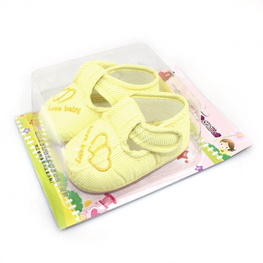 3 värvi uus puuvillane beebitüdrukute poisid kingad väikelapse - Beebi kingad - Foto 5