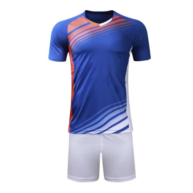 Adult and Boys Soccer Jerseys Set Kids Football Kits Child Futbol Training Suit Breathable Maillot Foot Jersey Uniforms Custom