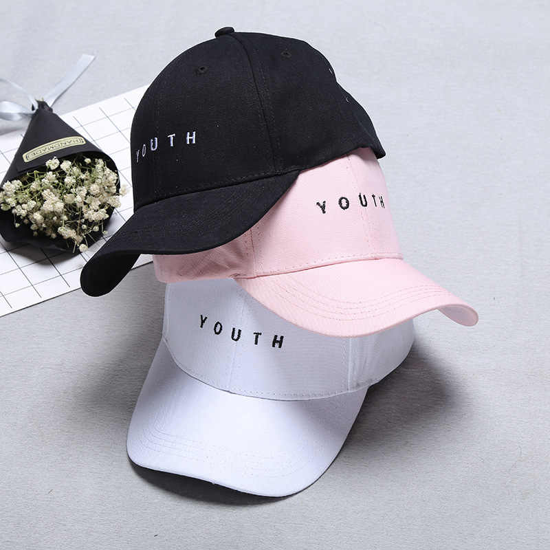 Women's Tennis Cap New 2019 Panama Embroidery Cotton Baseball Cap Youth Boys Girls Hip Hop Flat Hat Men Hot Sale