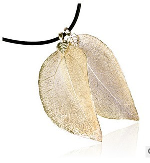 Natural leaf schmuck