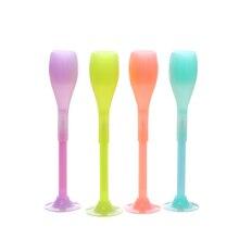 Ограниченное предложение 0.38 мм милые Пластик чернила гелевая ручка pinkycolor Серебристые Вино Кубок ручки для школы записи офиса корейской канцелярские