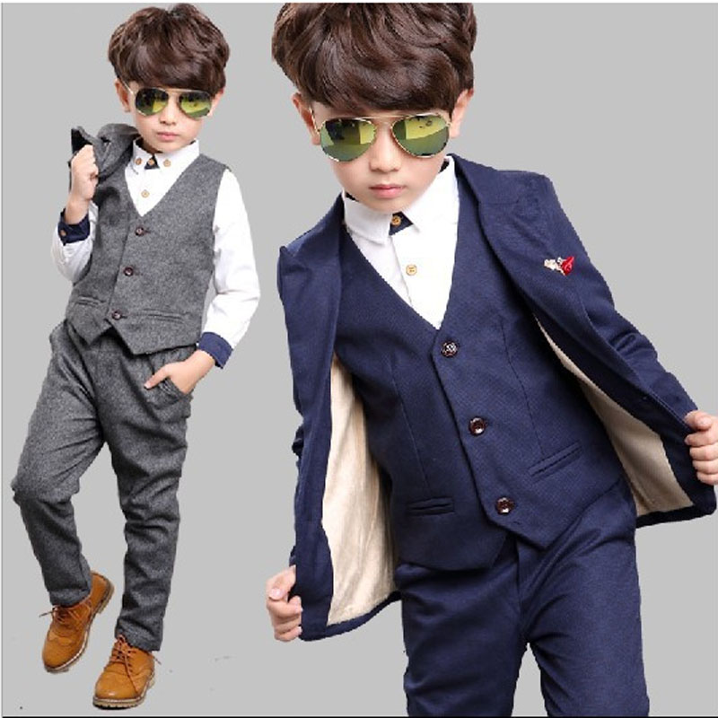 Sd516 Fashion Baby Boy Clothes Gentleman Suit Toddler Boys
