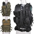 Tactical Military Combat Vest Paintball Airsoft Army Molle CS Hunting Assault