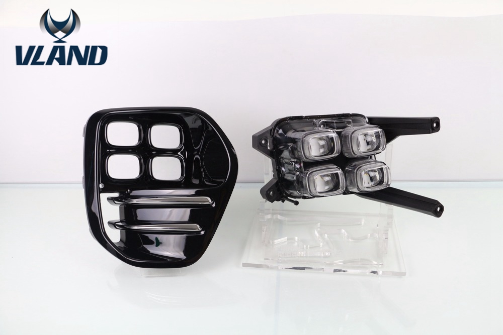 Бесплатная доставка для Kia KX5 Спортейдж 2013 2015 СИД DRL дневного света светильника тумана