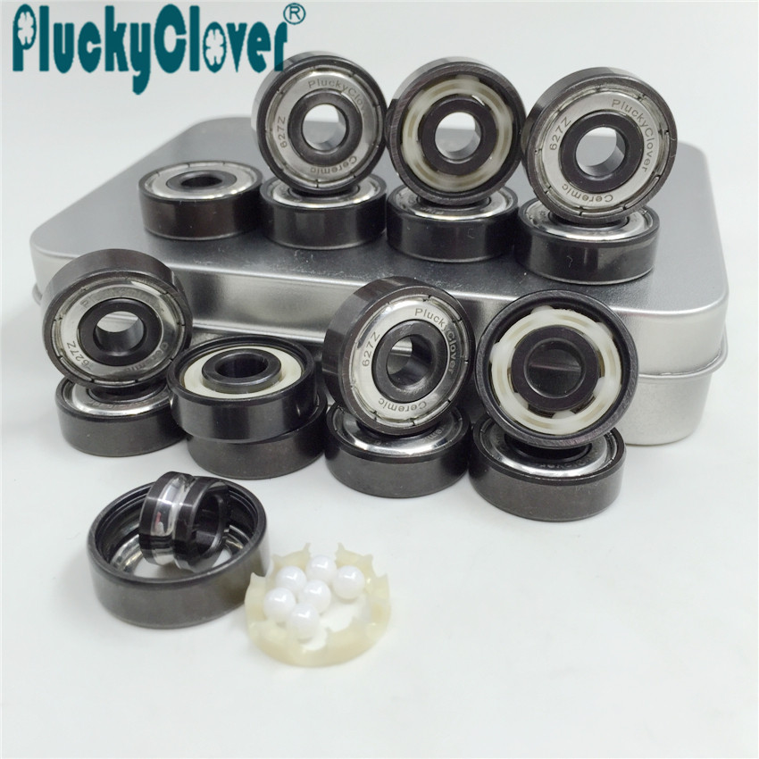Scooter Parts & Accessories Contemplative Pro-blacken Excellent Speed 627 Z Skate Bearing Abec11 Hybrid Ceramic Ball Skate Roller Ski Bearing Derby Roller Quad Skates Non-Ironing Roller Skates, Skateboards & Scooters