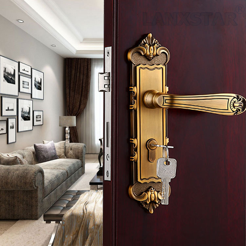 Popular Double Door Lockset Buy Cheap Double Door Lockset Lots From China Double Door Lockset