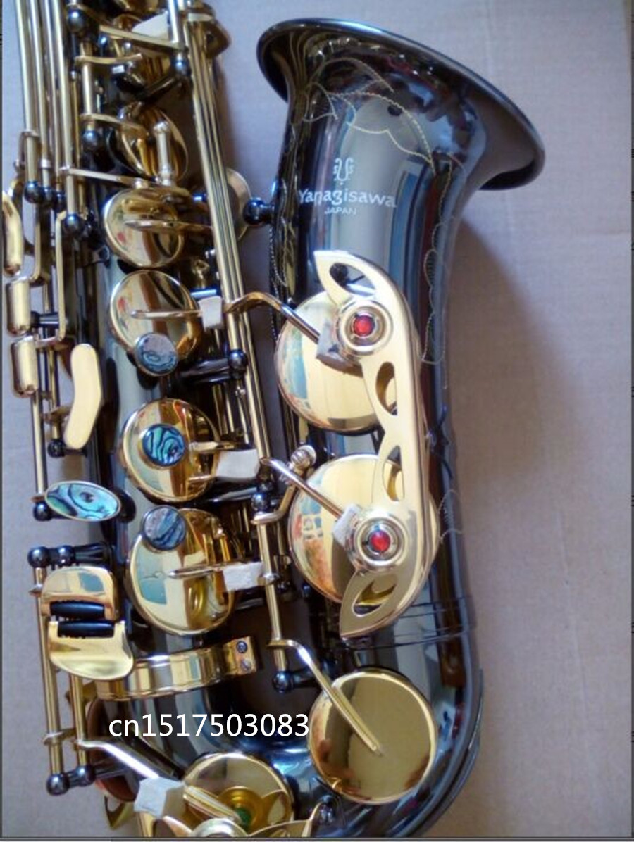 Saxophone YANAGISAWA new A-991 E Alto Saxophone instrument drop / wind / tube black nickel gold Sax Free shipping avengers world volume 3 next world