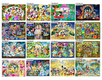 5d diy diamond painting Disney Mickey Mouse cartoon princess 3D rhinestone mosaic embroidery cartoon home decoration kids gift