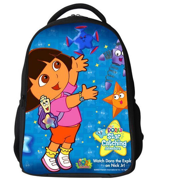 newest dora school bag children 3d cartoon school backpack ...