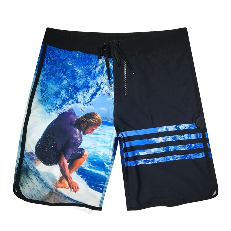 Striped   Shorts   Beach   Shorts   Men Bermuda   Short   Quick Dry Silver Men's Phantom Spandex Boardshorts   Board     Shorts   Brand Swimwear