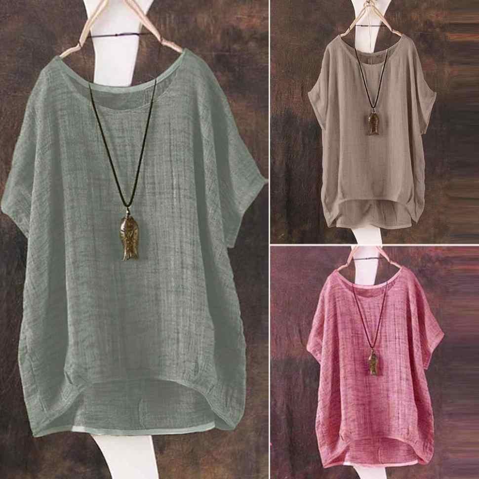 37e5b820e5f10 Summer women s shirt Tunic Chiffon Blouse Female Tops Blusas Retro Plaid  Shirts Camisa Femnininas Baggy Casual