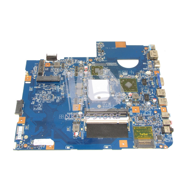 48.4FN01.011 Main Board For Acer asipre 5542 5542g Laptop motherboard Socket s1 Free cpu DDR2 HD4500 Video Card nokotion mbpce01001 laptop motherboard for acer aspire 7535 ddr2 socket s1 with graphics card slot 48 4ce01 021 mainboard works