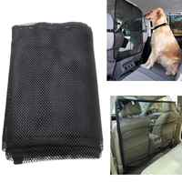117x94cm Vehicle Pet Dog Cat Safety Car Back Seat Nylon Net Mesh Barrier Guard Mesh Nets
