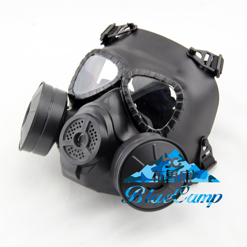 Back To Search Resultshome Wosport Tactical Skull V4 Avengers Cosplay Toxic Full Face M04 Military Cs Wargame Airsoft Paintball Two Fan Safety Gas Mask