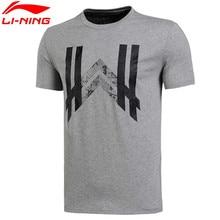 Li-Ning Shirt Men's Wade Sports T-Shirts Quick Dry Breathable Basketball Jerseys Flexible Tee AHSL283