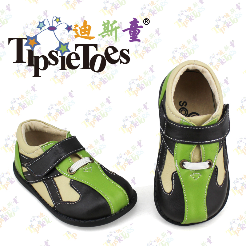 TipsieToes Brand High Quality Leather Stitching Baby Kids Sneakers Shoes Moccasins Loafers For Boys 2017 Autumn Spring 23343