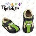 TipsieToes Marca de Alta Qualidade Costura de Couro Do Bebê Crianças Sapatilhas Sapatos Mocassins Mocassins Para Meninos 2016 Outono Primavera 23343